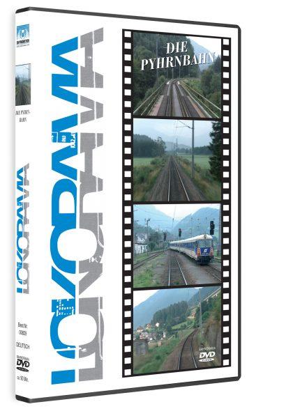 00829 Führerstandsmitfahrt Pyhrnbahn DVD 420x600 - Pyhrnbahn 1991 | DVD