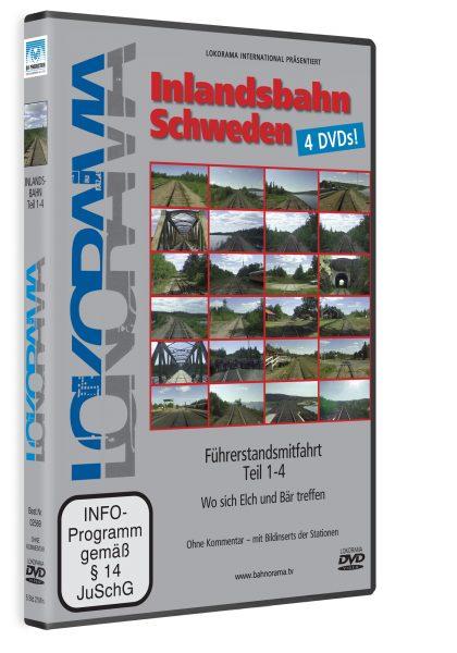 Inlandsbahn Schweden Teil 1 | DVD