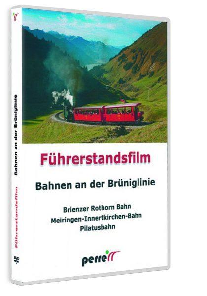 Bahnen an der Brüniglinie; von Andreas Perren | DVD