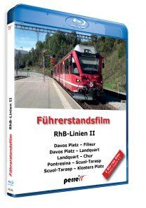 03965 Führerstandsmitfahrt Perren RhB Linien II Blu ray 208x297 - RhB-Linien II; von Andreas Perren | Blu-ray