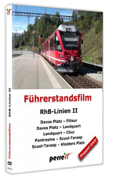 RhB-Linien II; von Andreas Perren | DVD