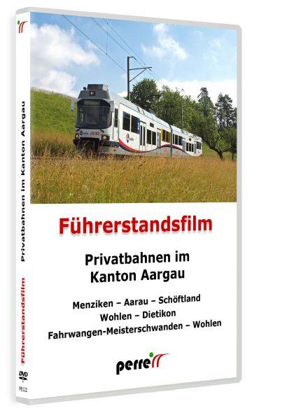 Privatbahnen im Kanton Aargau, von Andreas Perren   DVD