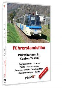 Privatbahnen im Kanton Tessin; von Andreas Perren | DVD