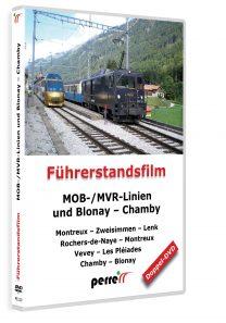 MOB-/MVR-Linien und Blonay – Chamby; von Andreas Perren | DVD
