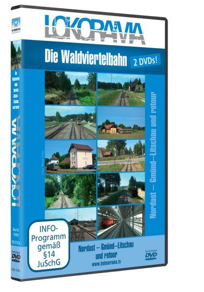 Waldviertelbahn 2014 Nordast | DVD