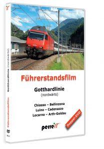 Gotthardlinie nordwärts; von Andreas Perren | DVD