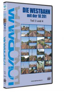 Die Westbahn mit der 18 201 Teil 3+4 | DVD