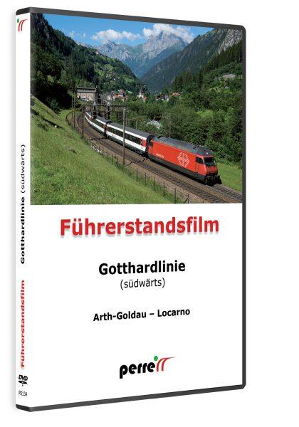 Gotthardlinie südwärts; von Andreas Perren | DVD