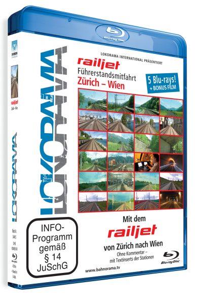 Mit dem railjet von Zürich nach Wien | Blu-ray