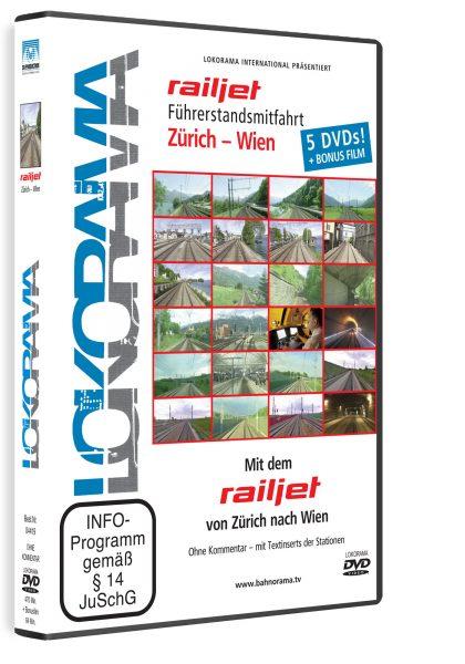 Mit dem railejt von Zürich nach Wien | DVD