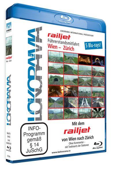 Mit dem railjet von Wien nach Zürich | Blu-ray