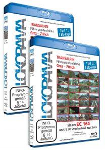 Mit dem EC 164 von Graz nach Zürich, Teil 1 und 2 | Blu-ray