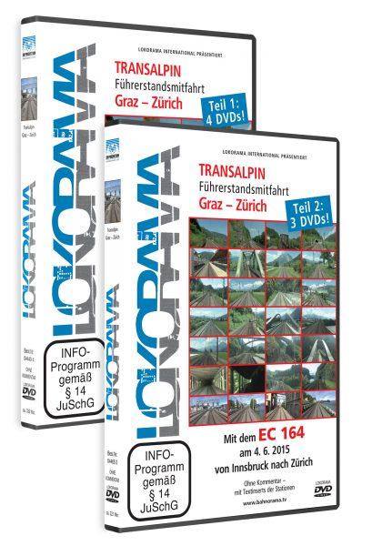Graz – Zürich, Teil 1 und 2   DVD