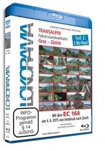 Mit dem EC 164 von Graz nach Zürich Teil 2 | Blu-ray