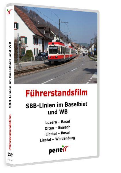 SBB Linien im Baselbiet und WB; von Andreas Perren   DVD
