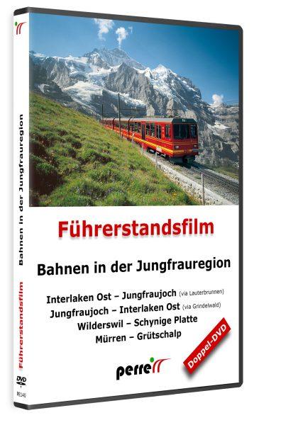 Bahnen in der Jungfrauregion; von Andreas Perren | DVD