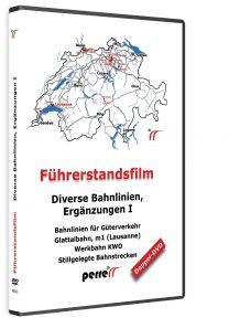 Diverse Schweizer Bahnlinien; von Andreas Perren | DVD