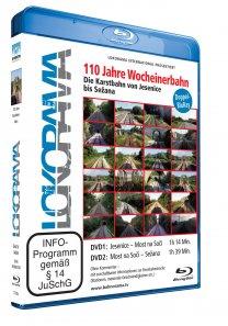 110 Jahre Wocheinerbahn – Die Karstbahn von Jesenice nach Sezana | Blu-ray