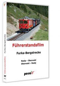 Furka-Bergstrecke; von Andreas Perren