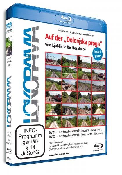 """Ljubljana-Rosalnice auf der """"Dolenska proga""""   Blu-ray"""