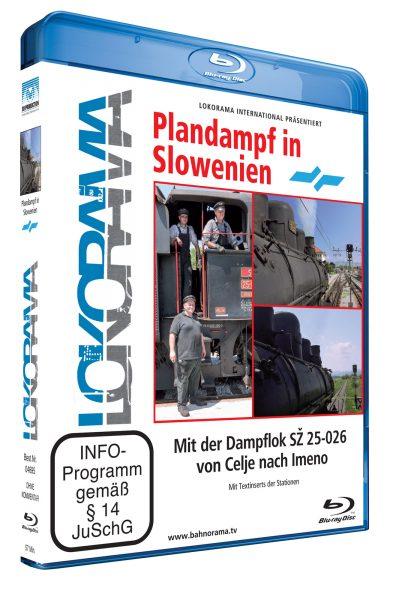 Celje – Imeno mit der Dampflok SZ 25-026 | Blu-ray