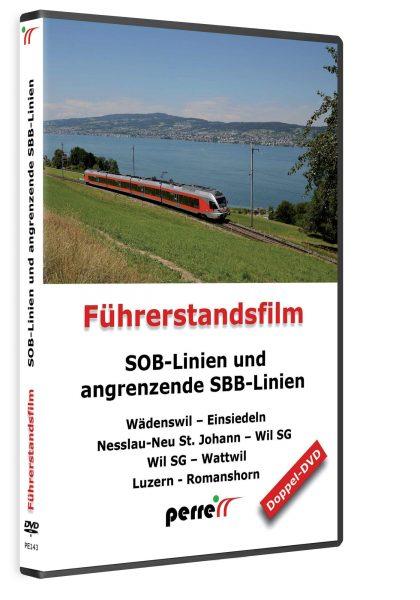 SOB Linien und angrenzende SBB Linien; von Andreas Perren | DVD