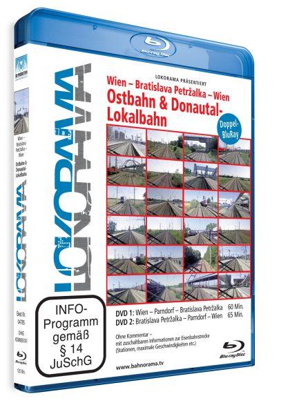 "Wien – Bratislava Petržalka ""Ostbahn und Donautal-Lokalbahn"" | Blu-ray"