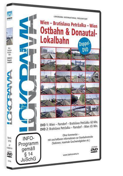 "Wien – Bratislava Petržalka ""Ostbahn und Donautal-Lokalbahn""   DVD"