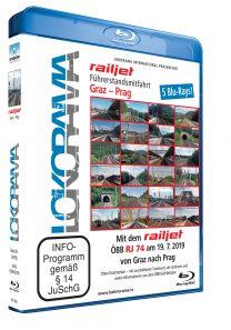 Graz – Prag mit dem railjet ÖBB RJ 74 | Blu-ray