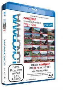 Prag – Graz mit dem railjet ÖBB RJ 73 | Blu-ray