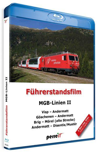MGB Linien II; von Andreas Perren   Blu-ray