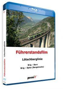 04875 Führerstandsmitfahrt Perren Lötschberglinie Blu ray 208x297 - Lötschberglinie; von Andreas Perren