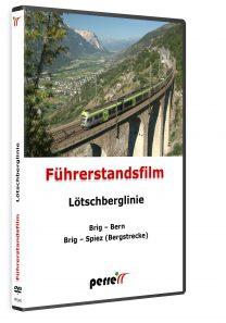04879 Führerstandsmitfahrt Perren Lötschberglinie DVD 208x297 - Lötschberglinie; von Andreas Perren