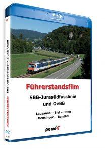 04935 Führerstandsmitfahrt Perren SBB Jurasüdfusslinie und OeBB Bluray 208x297 - SBB-Jurasüdfusslinie und OeBB; von Andreas Perren | Blu-ray