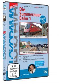 04969 Führerstandsmitfahrt Summerauerbahn 1 DVD 208x297 - Summerauerbahn 1 | DVD