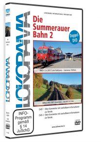 04979 Führerstandsmitfahrt Summerauerbahn 2 DVD 208x297 - Summerauerbahn 2 | DVD