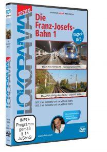 04989 Führerstandsmitfahrt Franz Josefsbahn 1 DVD 208x297 - Franz-Josefs-Bahn 1 | DVD