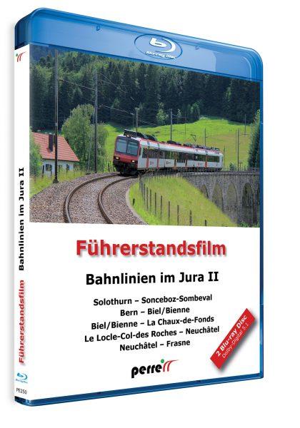 05005 Führerstandsmitfahrt Perren Bahnlinien im Jura II Blu ray 420x600 - Bahnlinen im Jura II; von Andreas Perren | Blu-ray