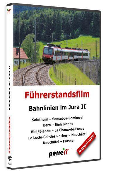 05009 Führerstandsmitfahrt Perren Bahnlinien im Jura II DVD 420x600 - Bahnlinen im Jura II; von Andreas Perren | DVD