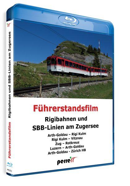 05015 Füherstandsmitfahrt Perren Rigibahnen und SBB Linien am Zugersee Blu ray 420x600 - Rigibahnen und SBB-Linien am Zugersee | Blu-ray