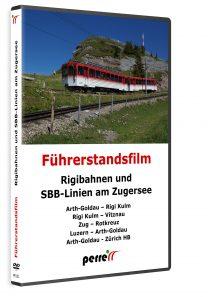 Rigibahnen und SBB-Linien am Zugersee | DVD