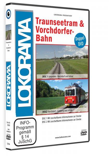 05089 PreCover 3D Traunseetram 1 420x600 - Traunseetram und Vorchdorferbahn | DVD