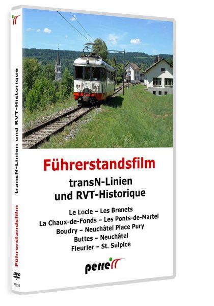 transN-Linien und RVT-Historique | DVD