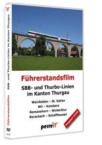 SBB- und Thurbo-Linien im Kanton Thurgau | DVD