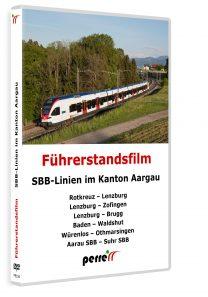 05129 SBB und Thurbo Linien im Kanton Aargau 208x297 - SBB-Linien im Kanton Aargau | DVD