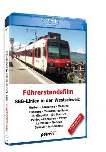 SBB-Linien in der Westschweiz | Blu-ray