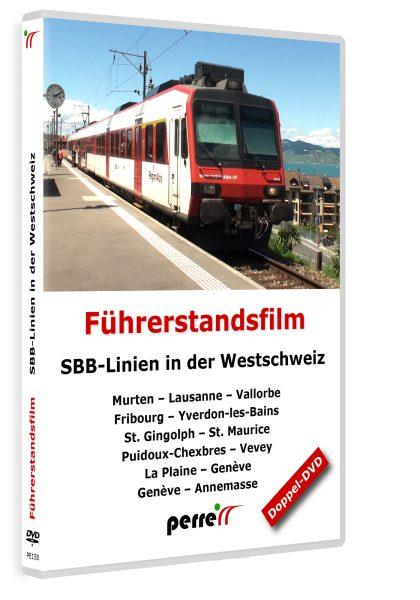 SBB-Linien in der Westschweiz | DVD