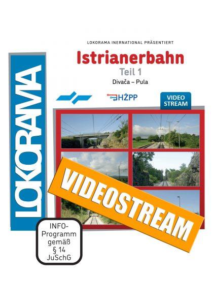 Istrianerbahn Teil1 Divača – Pula   Streamingvideo