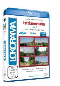 Istrianerbahn Teil 1 Divača – Pula | Blu-ray