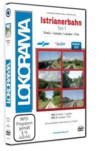 Istrianerbahn Teil 1 Divača – Pula | DVD